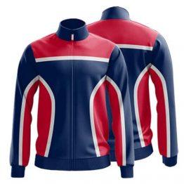 Sublimated Zip Front Jacket 003 - Custom Made Uniforms