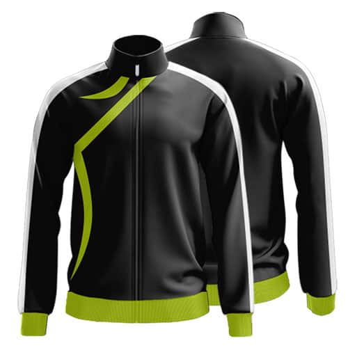Sublimated Zip Front Jacket 002 - Custom Made Uniforms