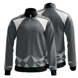 Sublimated Zip Front Jacket 006 - Custom Made Uniforms