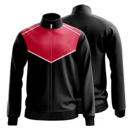 Sublimated Zip Front Jacket 005 - Custom Made Uniforms