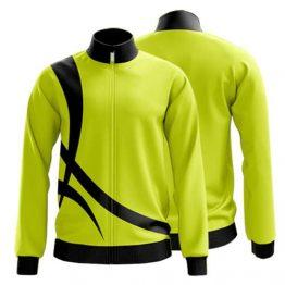 Sublimated Zip Front Jacket 008 - Custom Made Uniforms