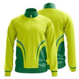 Sublimated Zip Front Jacket 009 - Custom Made Uniforms
