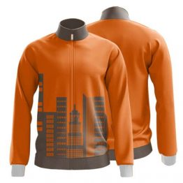Sublimated Zip Front Jacket 010 - Custom Made Uniforms