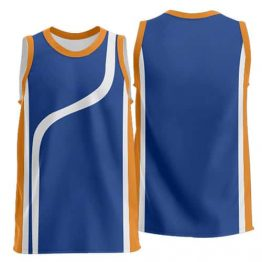 Sublimated Basketball Singlet 003 - Custom Made Uniforms