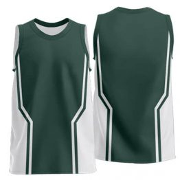 Sublimated Basketball Singlet 004 - Custom Made Uniforms