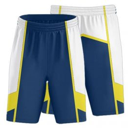 Sublimated Basketball Shorts 002 - Custom Made Uniforms