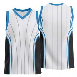 Sublimated Basketball Jersey 006 - Custom Made Uniforms
