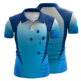 Sublimated Cricket Polo Shirt 004 - Custom Made Uniforms