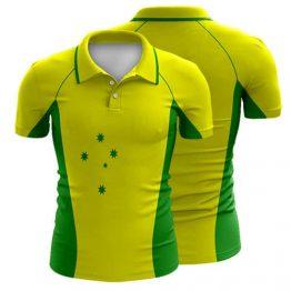 Sublimated Cricket Polo Shirt 005 - Custom Made Uniforms