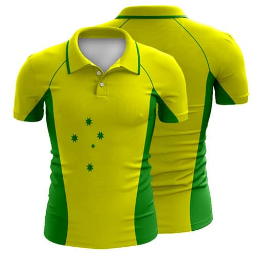 Sublimated cricket polo shirt 005 custom made uniforms for Create t shirt store online