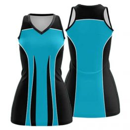 Sublimated Netball Dress 001 - Custom Made Uniforms