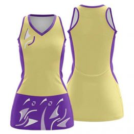 Sublimated Netball Dress 002 - Custom Made Uniforms
