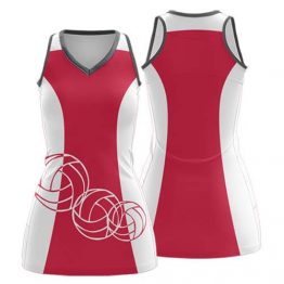 Sublimated Netball Dress 003 - Custom Made Uniforms