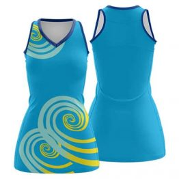 Sublimated Netball Dress 004 - Custom Made Uniforms