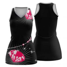 Sublimated Netball Dress 005 - Custom Made Uniforms