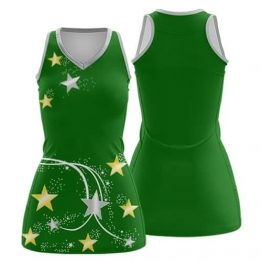 Sublimated Netball Dress 006 - Custom Made Uniforms