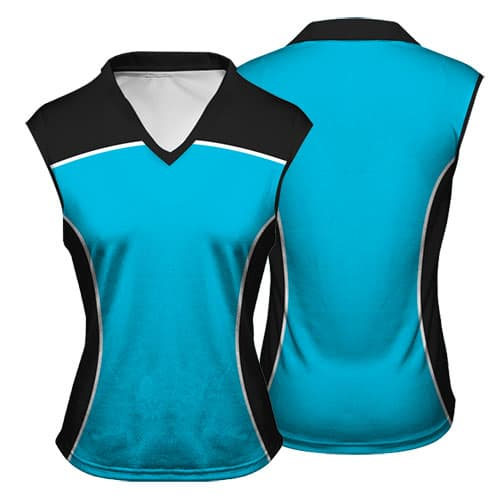 Sublimated Netball Vest 001 - Custom Made Uniforms