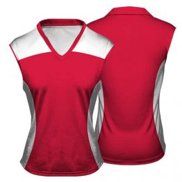Sublimated Netball Vest 003 - Custom Made Uniforms