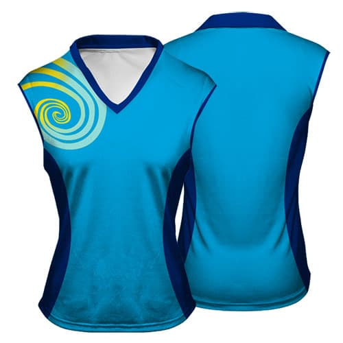 Sublimated Netball Vest 004 - Custom Made Uniforms