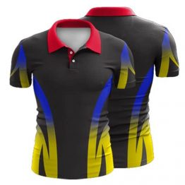Sublimated Polo Shirt 001 - Custom Made Uniforms