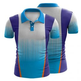Sublimated Polo Shirt 003 - Custom Made Uniforms