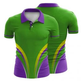 Sublimated Polo Shirt 004 - Custom Made Uniforms