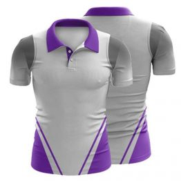 Sublimated Polo Shirt 005 - Custom Made Uniforms