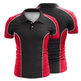 Sublimated Polo Shirt 007 - Custom Made Uniforms