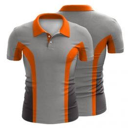 Sublimated Polo Shirt 009 - Custom Made Uniforms