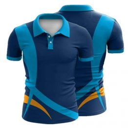 Sublimated Polo Shirt 013 - Custom Made Uniforms
