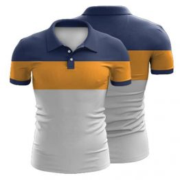 Sublimated Polo Shirt 014 - Custom Made Uniforms
