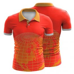 Sublimated Polo Shirt 015 - Custom Made Uniforms