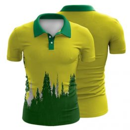 Sublimated Polo Shirt 019 - Custom Made Uniforms