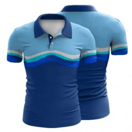 Sublimated Polo Shirt 022 - Custom Made Uniforms