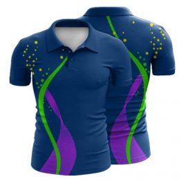 Sublimated Polo Shirt 023 - Custom Made Uniforms