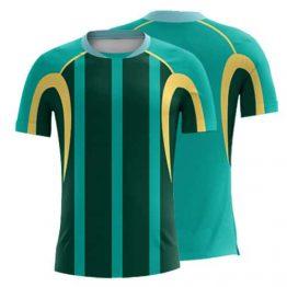 Sublimated Soccer Shirt 004 - Custom Made Uniforms