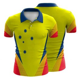 Sublimated Workwear Polo Shirt 001 - Custom Made Uniforms