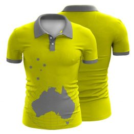 Sublimated Workwear Polo Shirt 002 - Custom Made Uniforms