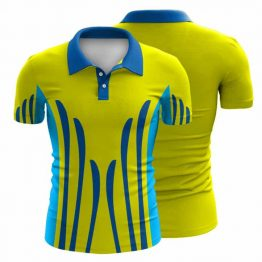 Sublimated Workwear Polo Shirt 003 - Custom Made Uniforms