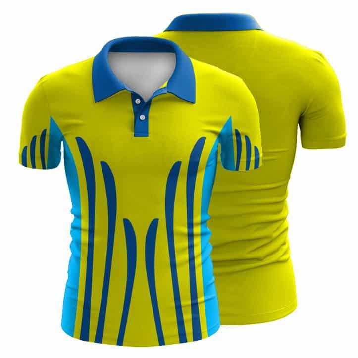Sublimated Hi Vis Polo Shirt 002 Custom Made Uniforms