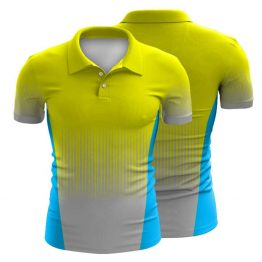 Sublimated Workwear Polo Shirt 004 - Custom Made Uniforms