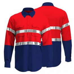 Cotton Drill Workwear Shirt 006 - Custom Made Uniforms