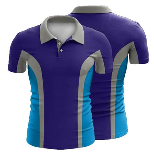 Sublimated Swimming Polo Shirt 005 - Custom Made Uniforms