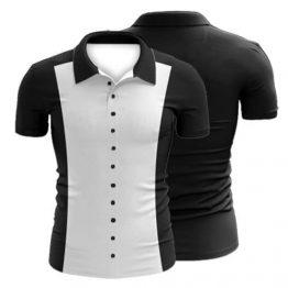 Sublimated Ten Pin Bowling Polo Shirt 003 - Custom Made Uniforms