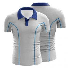 Sublimated Swimming Polo Shirt 004 - Custom Made Uniforms