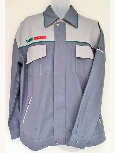 Cotton Drill Work Jacket for DMG Mori - Custom Made Uniforms - Workwear