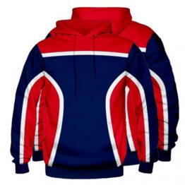 Sublimated Pullover Hoodie 003 - Custom Made Uniforms