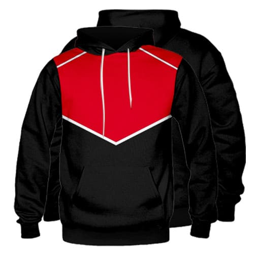 Sublimated Pullover Hoodie 005 - Custom Made Uniforms
