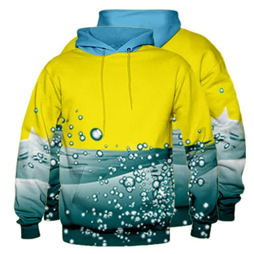 Sublimated Pullover Hoodie 009 - Custom Made Uniforms