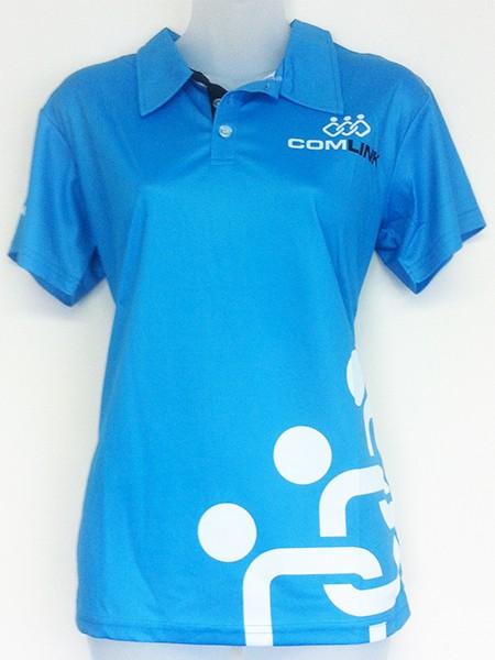 Sublimated Polo Shirt for ComLink - Custom Made Uniforms